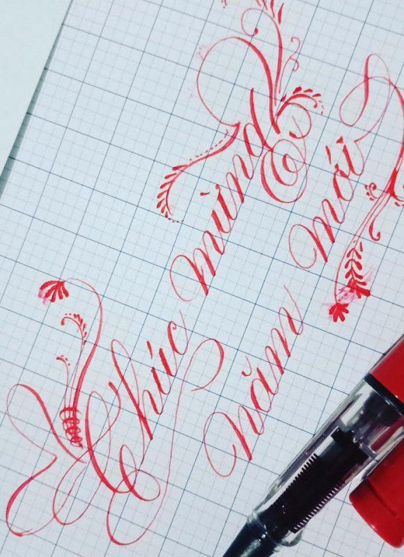 luyện viết chữ hoa