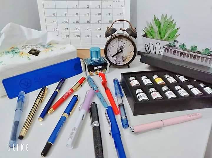 bút máy học sinh