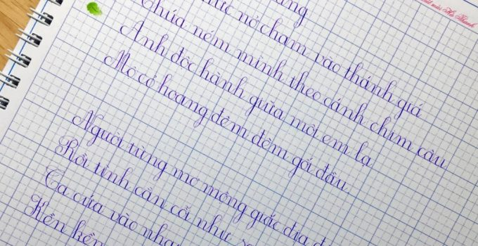 Nét cơ bản là gì? Khi viết cần ghi nhớ nguyên tắc nào?