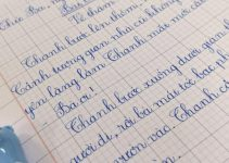 Luyện viết chữ đẹp tại nhà đơn giản