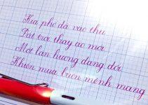 Đề thi viết chữ đẹp