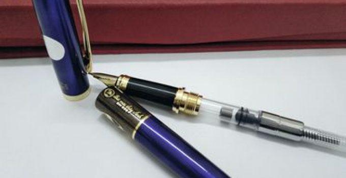 Cách sử dụng bút máy mới