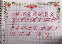 cách viết chữ hoa sáng tạo đẹp