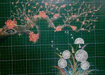 Các ý tưởng trang trí bảng lớp bằng phấn đơn giản mà độc đáo