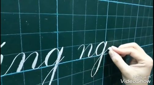 Cách viết bảng đẹp