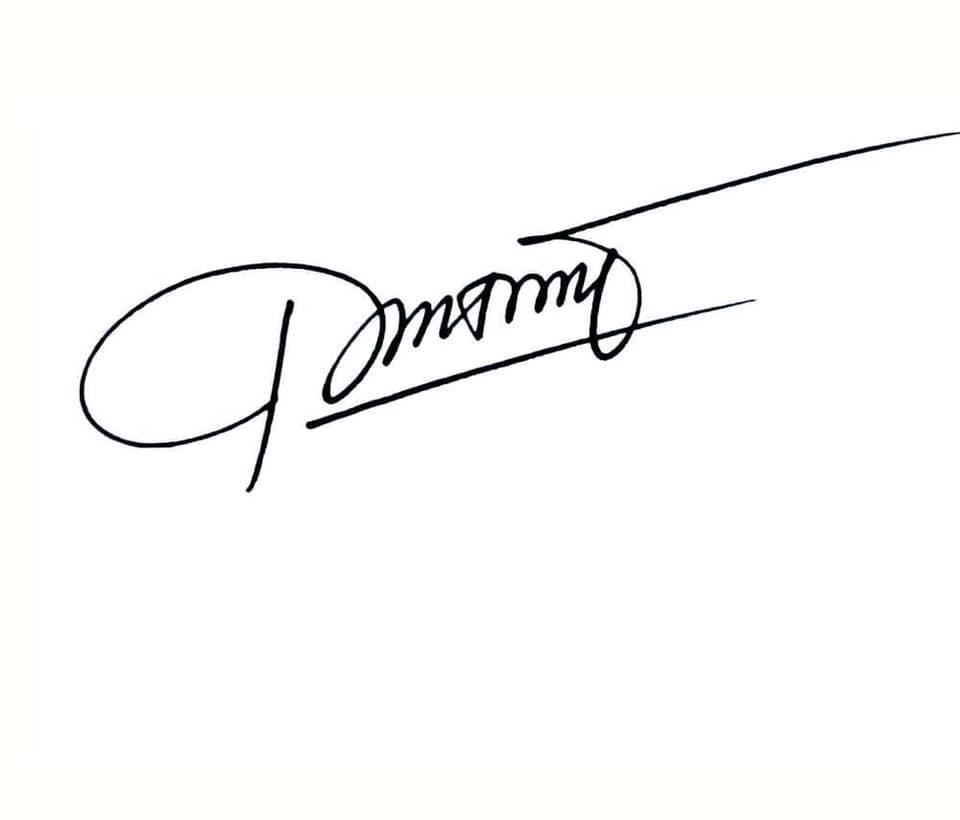 Mẫu chữ ký tên đẹp