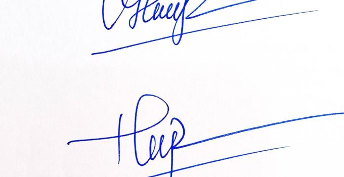 Phong thủy chữ ký ảnh hưởng đến tài lộc của con người
