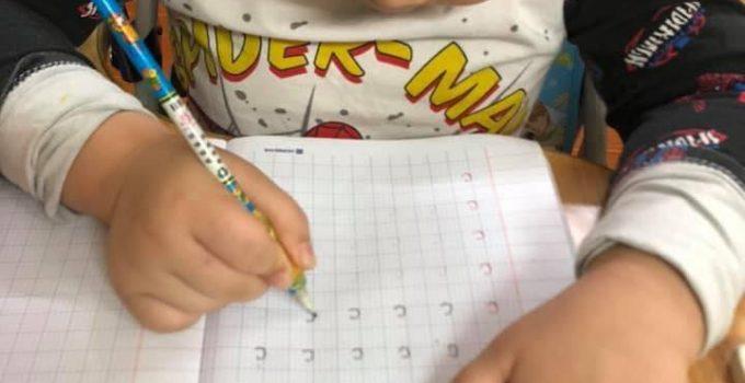 dạy trẻ lớp 1 tập viết