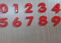Cách dạy bé nhớ mặt số hiệu quả