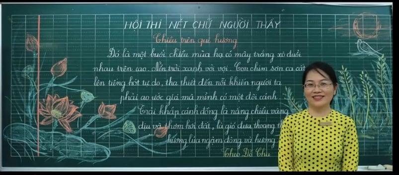 Kỹ năng viết bảng cho giáo viên