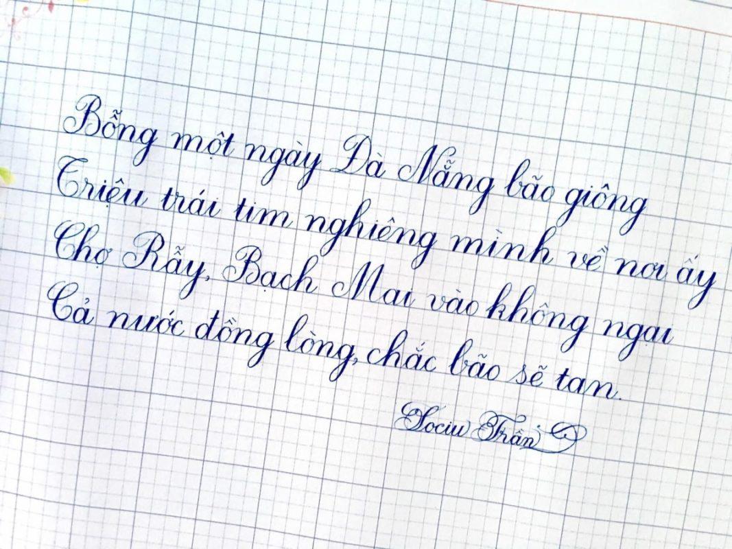 Luyện viết chữ đẹp cho người lớn