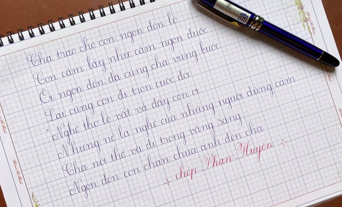 Các loại bút máy viết đẹp