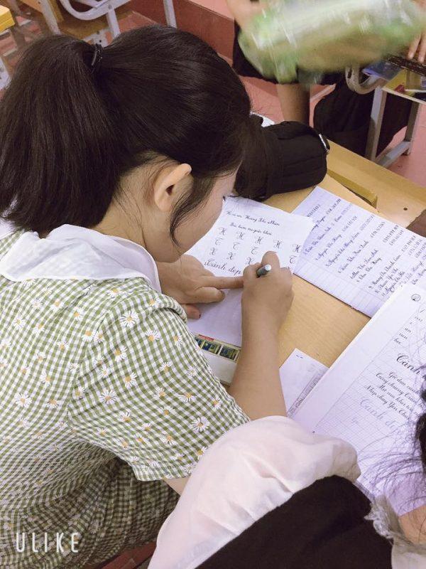 Hướng dẫn viết chữ hoa cỡ nhỏ