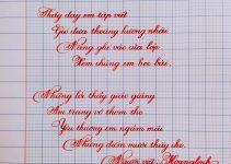 Các cuộc thi viết chữ đẹp