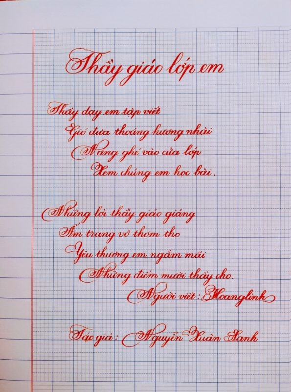viết chữ kiểu