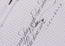 Kiểu chữ trang trí viết tay