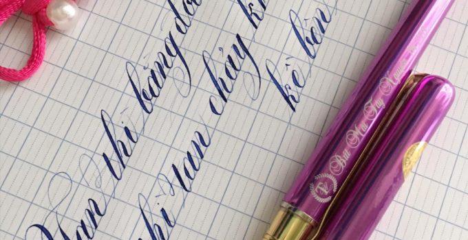 Viết chữ kiểu đẹp