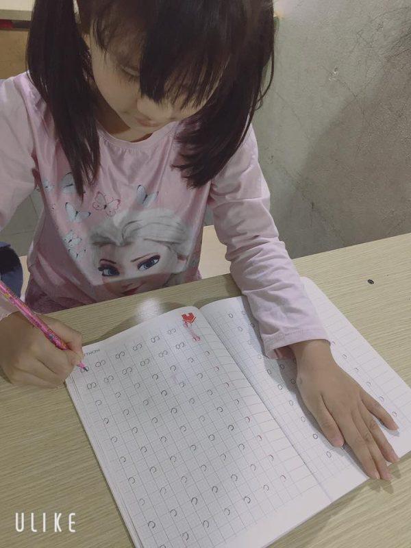 bài tập viết cho bé