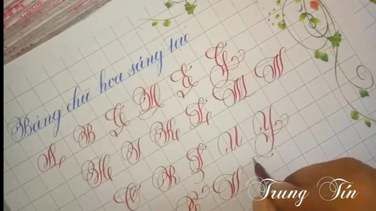 cách luyện chữ đẹp và nhanh