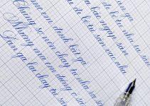 Bài mẫu luyện viết chữ đẹp