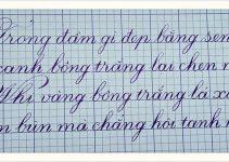 cách viết chữ siêu đẹp