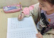 Cách dạy con viết chữ chuẩn bị vào lớp 1
