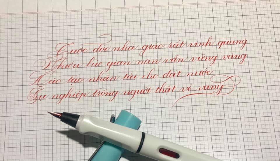 phương pháp viết chữ đẹp