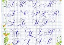 bút viết chữ hoa sáng tạo