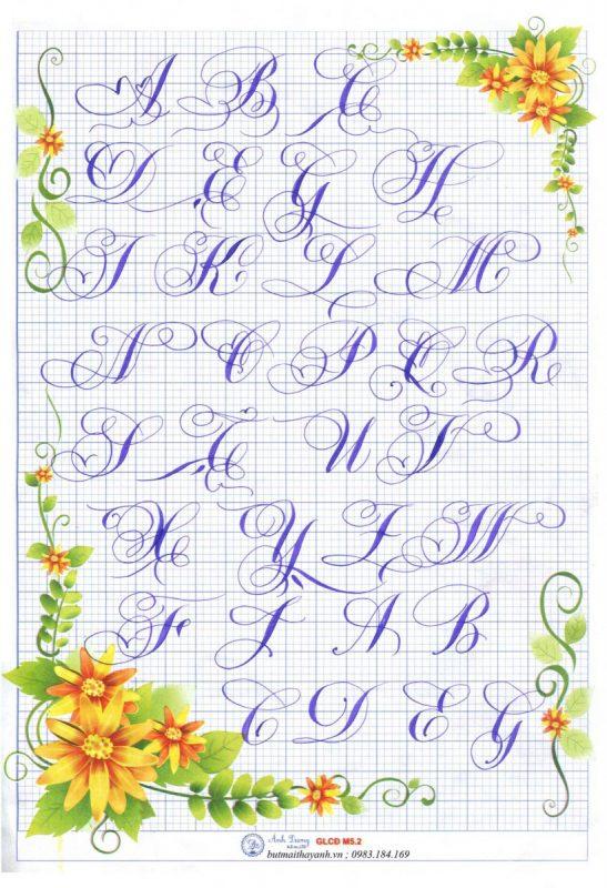 Kiểu chữ trang trí bằng tay