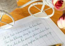 Các bước luyện chữ đẹp