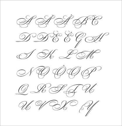 mẫu chữ cách điệu