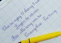 Luyện viết chữ đẹp cho học sinh lớp 2