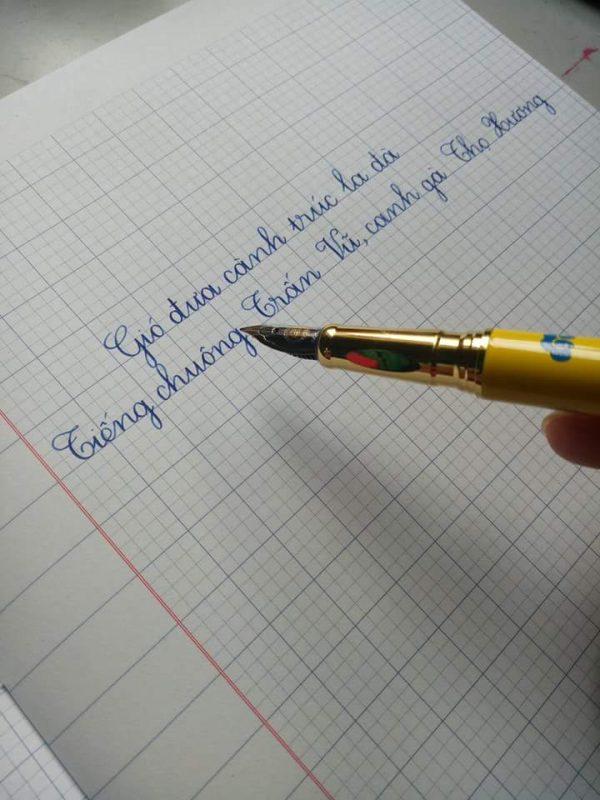 Lớp 1 viết vở mấy ô ly