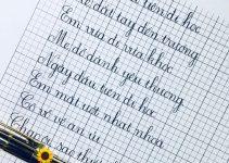 Điều kiện mở lớp luyện chữ đẹp