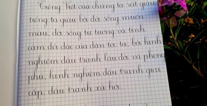 Luyện viết chữ đẹp cho học sinh lớp 3
