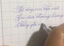 Viết chữ sáng tạo đơn giản