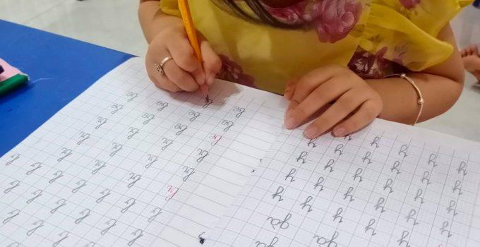 Cách viết chữ ghép lớp 1
