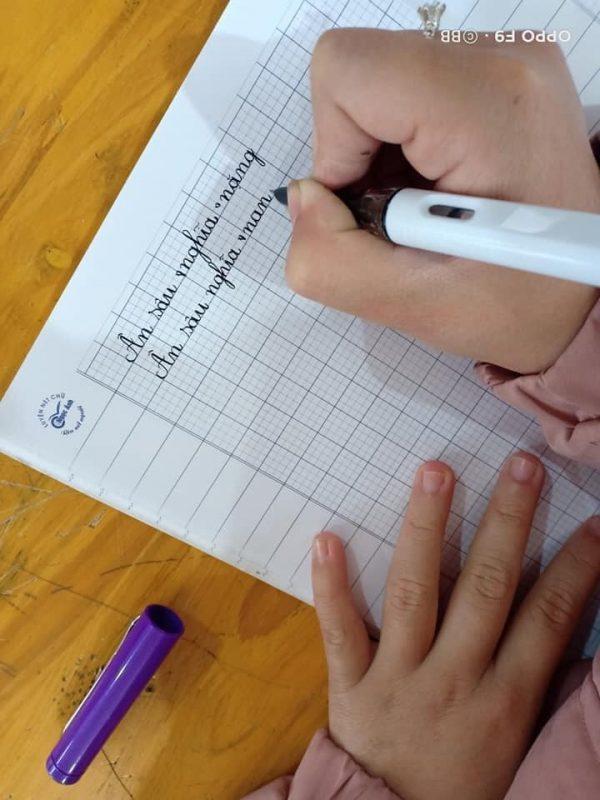 Luyện chữ cho bé vào lớp 1