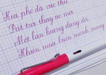 Đề thi viết chữ đẹp cấp quốc gia