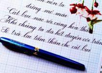 Mẫu tập viết chữ đẹp cho người lớn