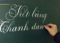Chứng chỉ luyện chữ đẹp