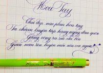 Mua giấy viết chữ đẹp