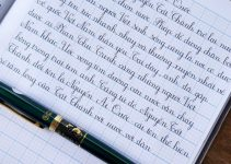 Cách thay mực bút máy