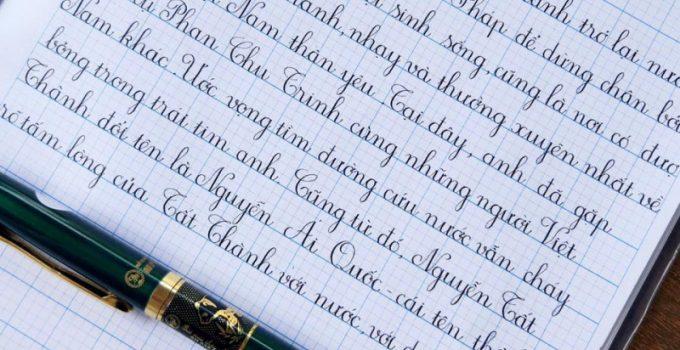 Học luyện viết chữ đẹp