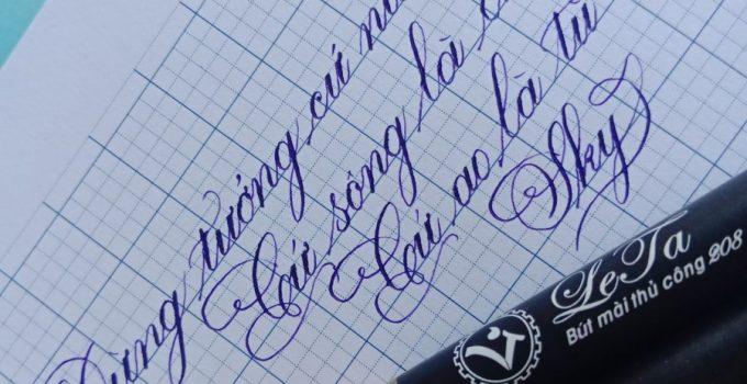 Bút máy gắn ngòi Calligraphy