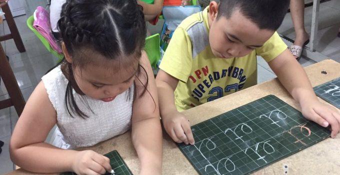 Tài liệu luyện chữ cho bé chuẩn bị vào lớp 1