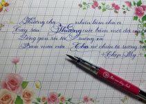 Mua bút calligraphy ở Hà Nội