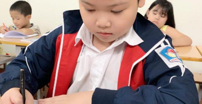 Mẫu chữ cho trẻ vào lớp 1