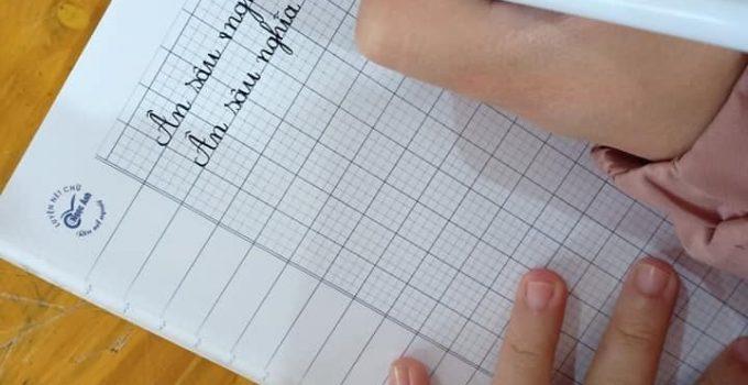 Cách viết chữ kiểu đẹp đơn giản